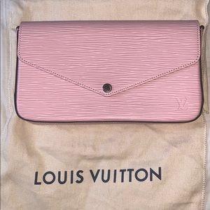 Louis Vuitton Pochette Felicie Rose Ballerine